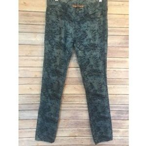 Tory Burch Ivy Super Skinny Jeans  Floral